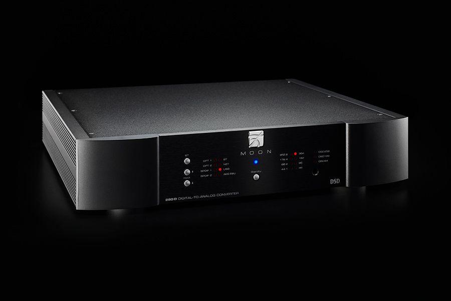Test MOON 280D Streaming DAC na portalu hifiandmusicsource.com